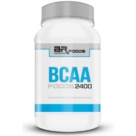 BCAA Foods 2400 - BR Foods - 100 Cápsulas