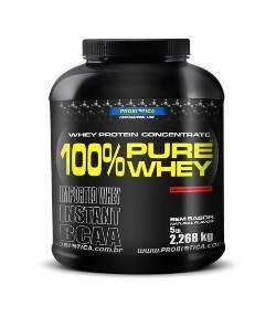 100% Pure Whey Protein Probiótica - Sem Sabor - 2.268g