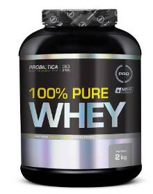 100% Pure Whey Protein Probiótica Natural - 2Kg