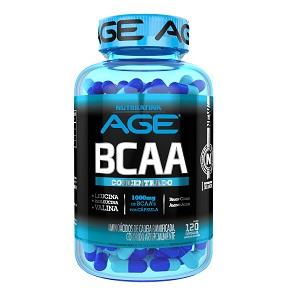 BCAA Concentrado 1000mg - Nutrilatina AGE - 120 Cápsulas