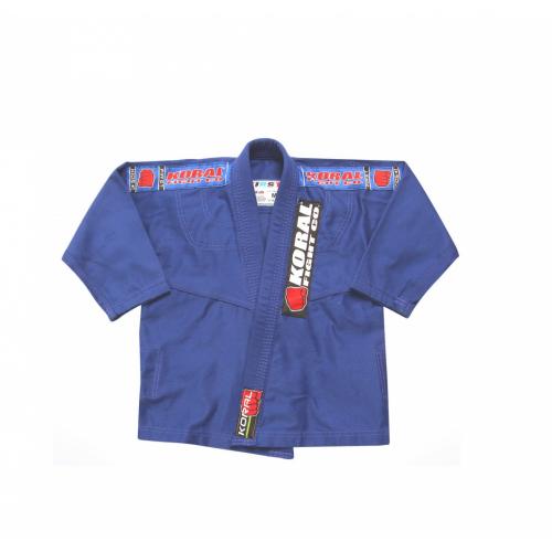 Kimono Koral Infantil First - Azul - M1