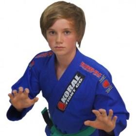 Kimono Koral Infantil First - Azul - M0