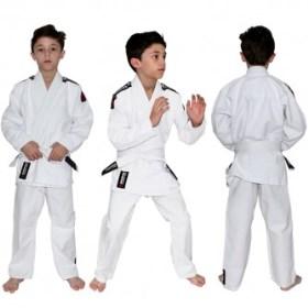 Kimono Koral Light Infantil - Branco - M0