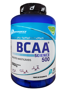 BCAA Science Mastigável - Performance Nutrition - Limão - 200 Tabletes