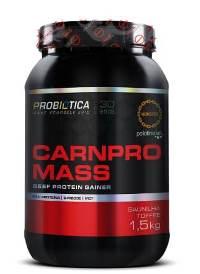 Carnpro Mass Probiótica - Baunilha - 1,5Kg