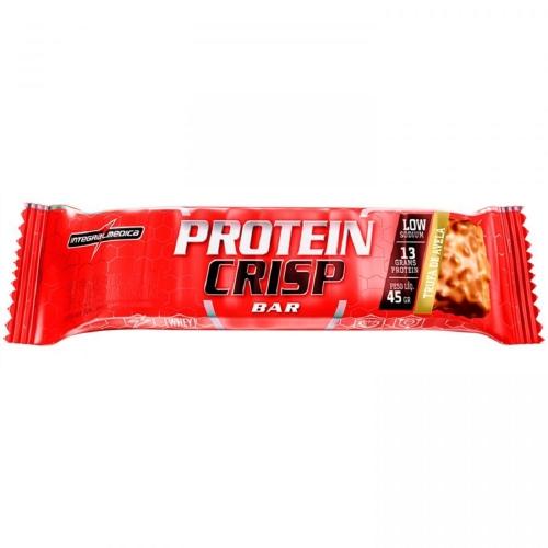 Protein Crisp Bar Sabor Trufa de Avelã (1 Unidade de 45g) - Integralmédica