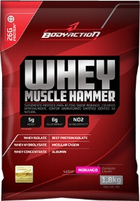 Whey Muscle Hammer - Body Action - Chocolate - 1,8 Kg