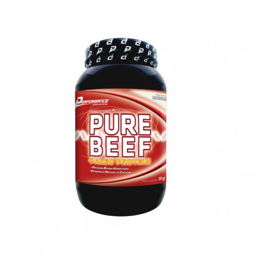 Pure Beef Paleo Protein - Performance Nutrition - Baunilha - 1 Kg