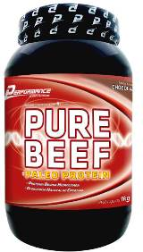 Pure Beef Paleo Protein - Performance Nutrition - Baunilha - 1 Kg
