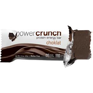 Power Crunch Choklat Bio Nutricional - Chocolate  Escuro - 43g