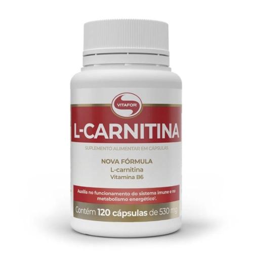 L-Carnitina Vitafor - 120 Cápsulas