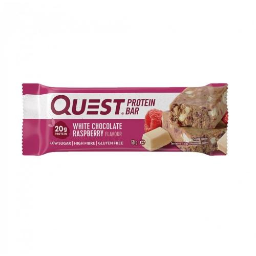Quest Bar - Protein Bar - Chocolate Branco e Framboesa - 60g