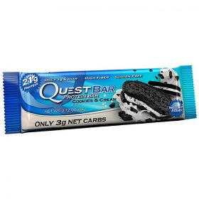 Quest Bar - Protein Bar - Cookies - 60g (Val. 02/10/18)