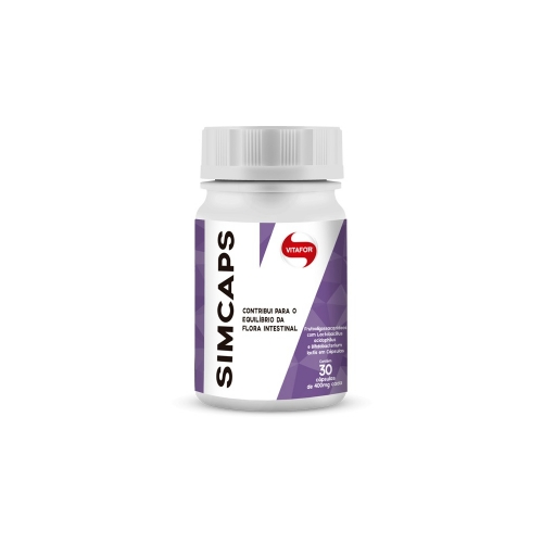 Simcaps - Vitafor - 30 Cápsulas