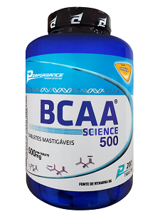 BCAA Science Mastigável - Performance Nutrition - Laranja - 200 Tabletes