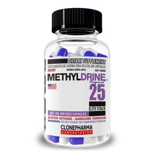 Methyldrene 25 Elite Stack (60 Cápsulas) - Clone Pharma