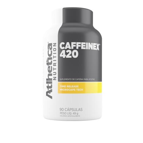 Caffeinex 420 (90 Cápsulas) - Atlhetica Evolution