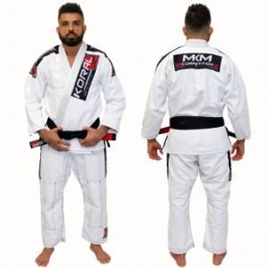 Kimono Koral New MKM Competition - Branco - A3
