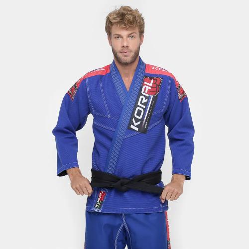 Kimono Koral New MKM Competition - Azul - A3