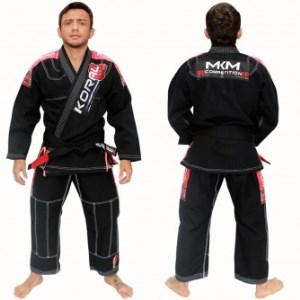 Kimono Koral New MKM Competition - Preto - A3