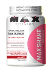 Max Shake - Max Titanium - Morango - 400g