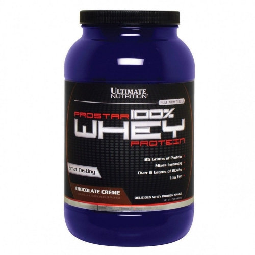 Prostar Whey Protein - Ultimate Nutrition - Chocolate com Menta - 907g
