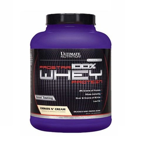 Prostar Whey Protein - Ultimate Nutrition - Cookies - 2.390g