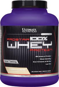 Prostar Whey Protein - Ultimate Nutrition - Morango - 2.390g