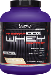 Prostar Whey Protein - Ultimate Nutrition - Baunilha 2,390kg