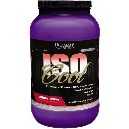Isocool - Ultimate Nutrition - Cereja - 908g