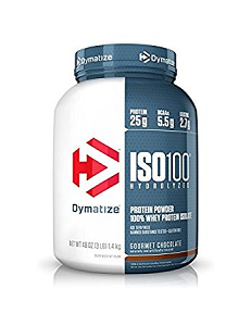 Whey Protein Hydrolized Iso 100 Dymatize - Brownie - 1.360g
