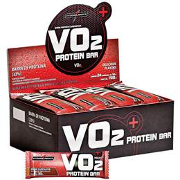 Vo2 Whey Bar Integralmédica - 30g (1 Caixa - 24 Unidades) - Chocolate