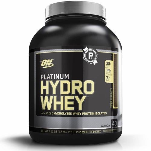 Platinum Hydro Whey Sabor Baunilha (1,5Kg) - Optimum Nutrition