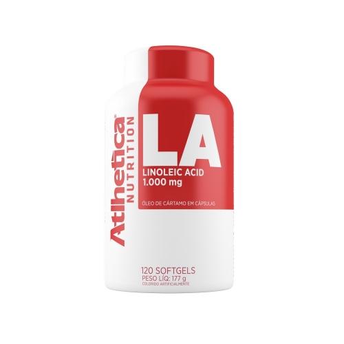 LA Linoleic Acid (120 Cápsulas) - Atlhetica Evolution