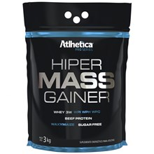 Hiper Mass Gainer Pro Series sabor Chocolate (3kg) - Atlhetica Nutrition - Unissex