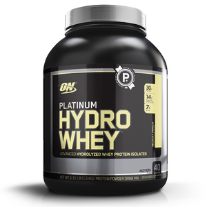 Platinum Hydro Whey Optimum Nutrition Baunilha - 1,5Kg