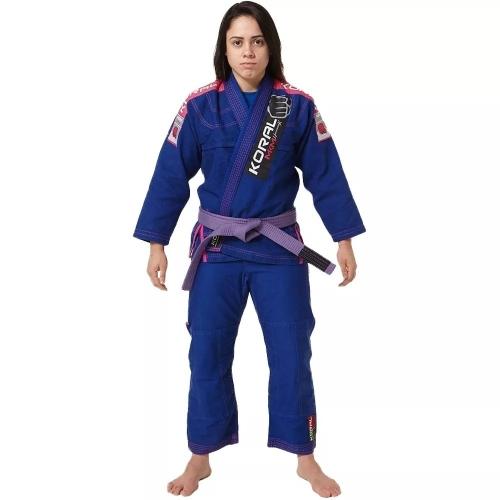 Kimono MKM Harmonik Girl - Azul Royal - Koral - F1