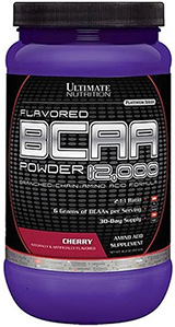 BCAA Powder 12.000 - Ultimate Nutrition - Ponche de Frutas - 457g