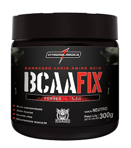 BCAA Fix Powder - Integralmédica - Limão - 300g
