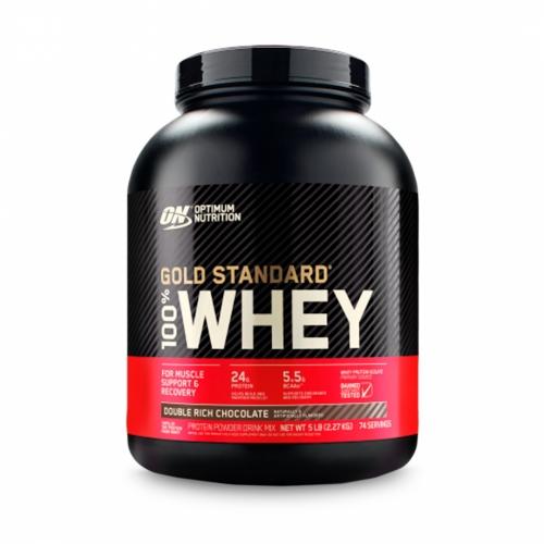 100% Whey Protein Gold Standard Sabor Chocolate (2.270g) - Optimum Nutrition