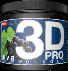 3D Pro Workout - Procorps - 200g - Uva