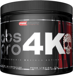 ABS Pro 4K - Procorps - 60 Softgels (Validade 12/2018)