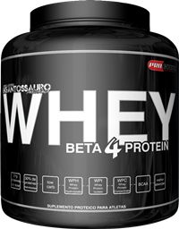 Beta 4 Protein Whey - Procorps - Morango - 2 Kg