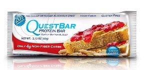 Quest Bar - Protein Bar - Amendoim e Geléia - 60g (val. 24/06/18)