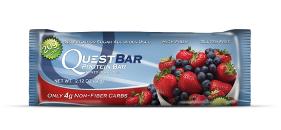 Quest Bar - Protein Bar - Frutas Vermelhas - 60g  (Validade 05/2018)