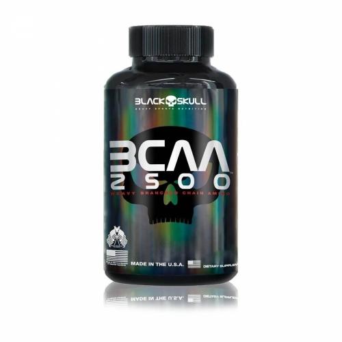 BCAA 2500 (120 Tabletes) - Black Skull
