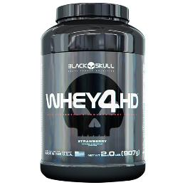 Whey 4 HD - Black Skull - Baunilha - 907g