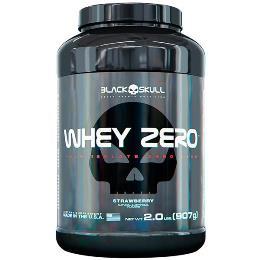 Whey Zero - Black Skull - Morango - 907g