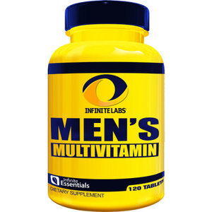 Mens Multivitamínico - Infinite Labs - 120 Tabletes