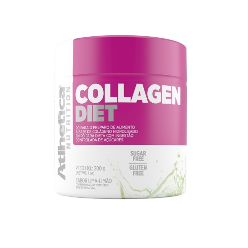 Collagen Ella Diet - Atlhetica Nutrition - Cranberry - 200g